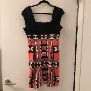 Tibi Fun Mod Print Dress
